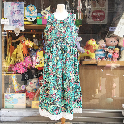80's Floral Sundress USA